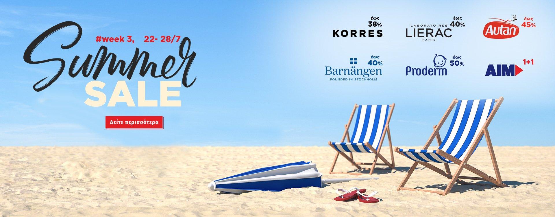 Summer Sales Week 3