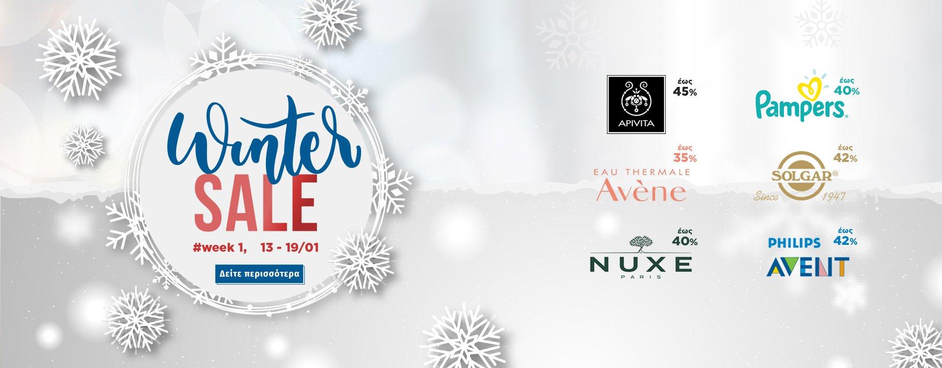 Winter Sales Week 1