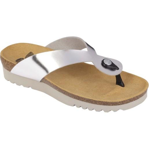 Dr Scholl Shoes Kenna Ασημί ΝΕΟ Γυναικεία Ανατομικά Παπούτσια Χαρίζουν Σωστή Στάση & Φυσικό Χωρίς Πόνο Βάδισμα 1 Ζευγάρι