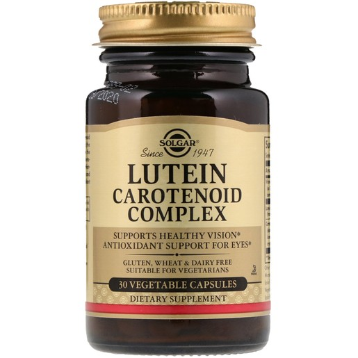 Solgar Lutein Carotenoid Complex 30 veg.caps