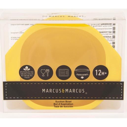 Marcus & Marcus Suction Bowl Μπολ Εκπαιδευτικό Φαγητού Σιλικόνης FDA με Αντιολισθητική Βάση 1 τεμάχιο