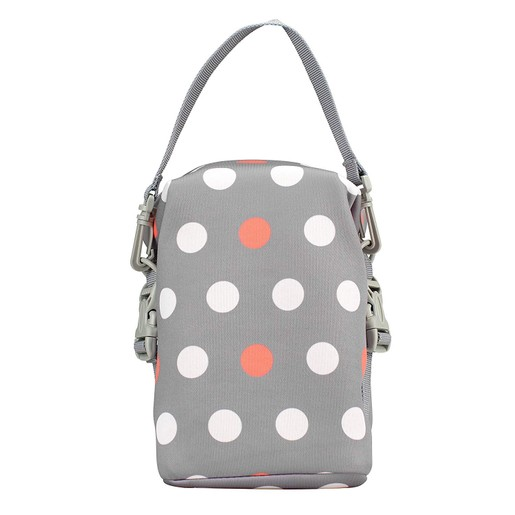 Dr Brown\'s Ισοθερμική Τσάντα Μεταφοράς σε Γκρι Χρώμα Polka Dot AC016 1 Τεμάχιο