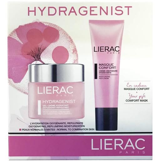 Lierac Πακέτο Προσφοράς Hydragenist Gel-Cream 50ml Κρέμα-Ζελ Προσώπου Ενυδάτωσης & Masque Confort Ενυδατική Μάσκα Προσώπου 50ml