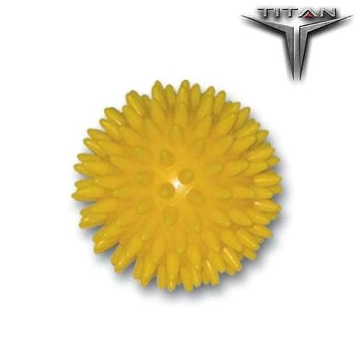 John\'s Titan Μπαλάκι Μασάζ σε Κίτρινο Χρώμα 7cm 23936