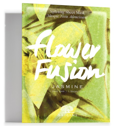 Origins Flower Fusion Softening Sheet Mask Jasmine Μάσκα Προσώπου Πλούσιας Ενυδάτωσης για Άμεσα Απαλή Επιδερμίδα 1 sheet