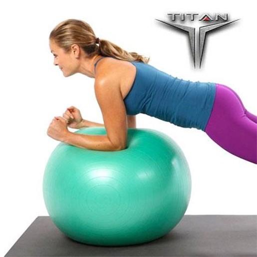 John\'s Titan Μπάλα Yoga - Pilates σε Πράσινο Χρώμα 55cm 900gr 26135
