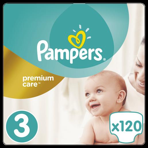 Premium Care No3 (5-9kg) 120 πάνες - Pampers