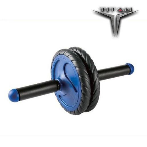 John\'s Titan Ρόδα Γυμναστικής Μαύρο/Μπλε Φ 16,5 26139