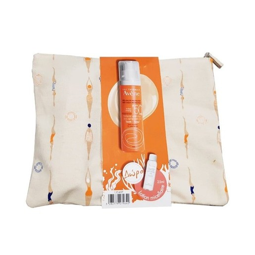 Avene Trousse Solaire Anti-Age Teinte Spf50+ Αντηλιακή Αντιγηραντική Κρέμα Προσώπου με Χρώμα 50ml & Δώρο Lotion Micellaire 25ml