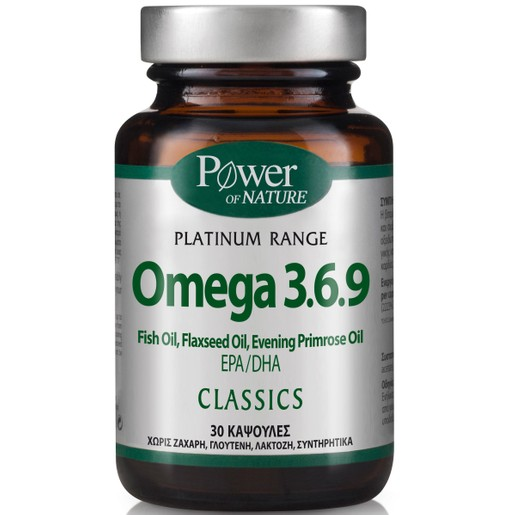 Power Health Platinum Omega 3.6.9 30caps