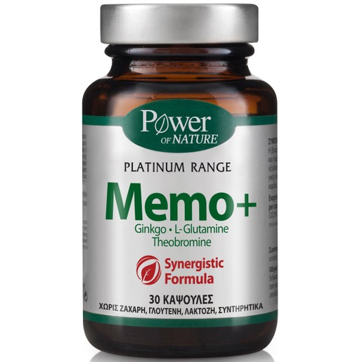 Power Health Platinum Memo+ 30caps