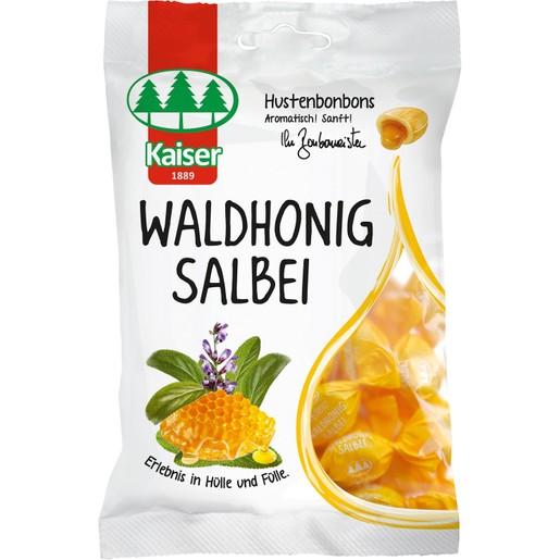 Kaiser Waldhonig Salbei Καραμέλες με Φασκόμηλο & Γέμιση Από Μέλι του Δάσους 75gr