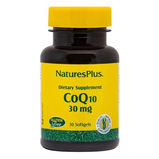 Nature\'s Plus Coenzyme Q10 30mg Συμπλήρωμα Διατροφής Κατάλληλο για Παραγωγή Ενέργειας & για Καρδιαγγειακές Παθήσεις 30softgels