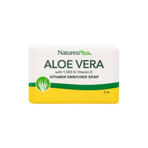 Nature\'s Plus Aloe Vera Soap Φυσικό Βιοδιασπώμενο Σαπούνι με Αλόη 86gr
