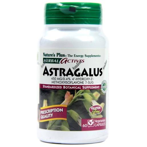 Natures Plus Astragalus 450mg - Συμπλήρωμα Διατροφής για Ανοσοποιητικό, 60 veg caps
