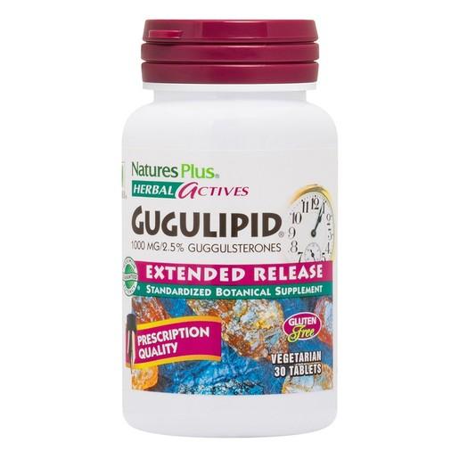 Nature\'s Plus Gugulipid 1000mg Συμπλήρωμα Διατροφής με Αντιοξειδωτικές Ιδιότητες 30 tabs