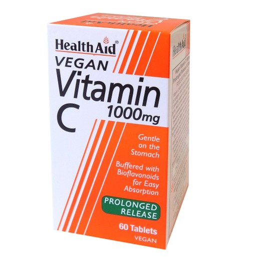 Health Aid Vitamin C 1000mg With Bioflavonoids 60tabs