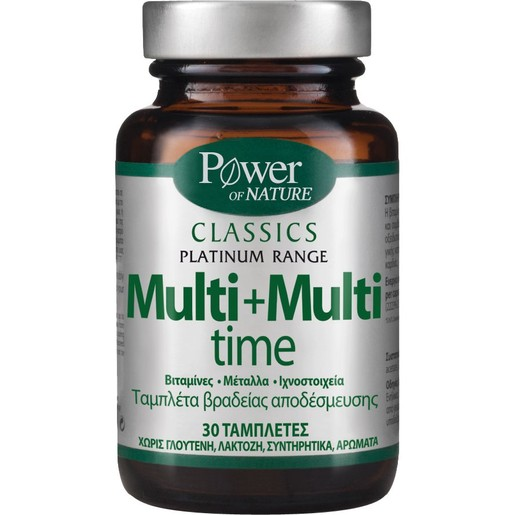 Power Health Platinum Range Multi + Multi time 30tabs