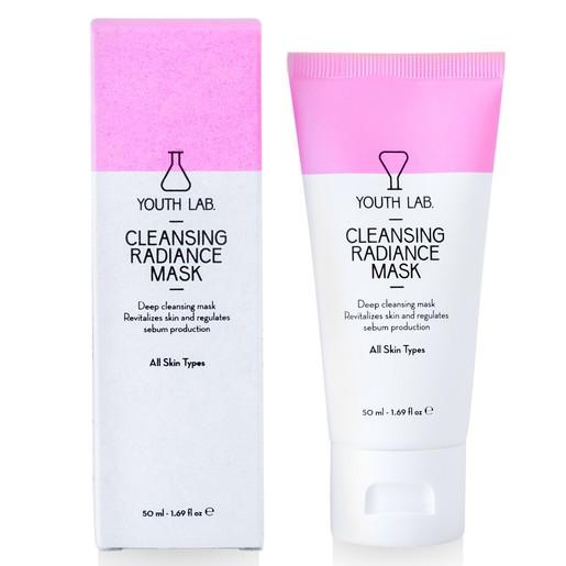 YOUTH LAB. Cleansing Radiance Mask Μάσκα Καθαρισμού, Λάμψης & Μείωσης των Διεσταλμένων Πόρων 50ml