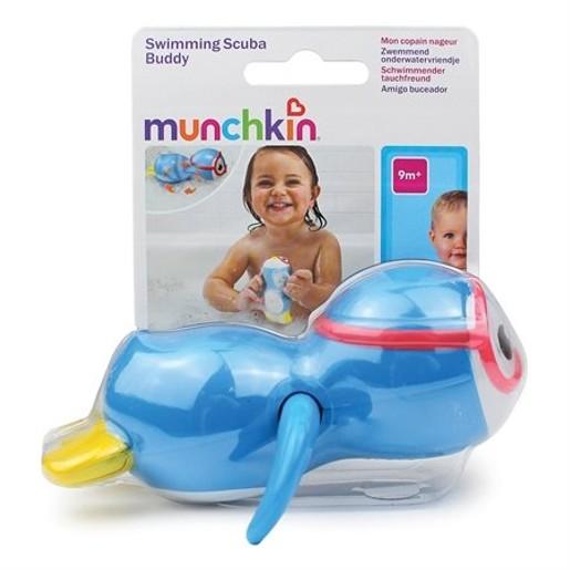 Munchkin Swimming Scuba Buddy - Penguin Παιδικό Παιχνίδι Μπάνιου