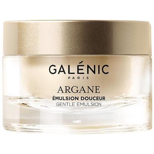 Galenic Argane Emulsion Doucher Λεπτόρρευστη Καταπραϋντική Κρέμα Προσώπου Ασύγκριτης Άνεσης για Κανονικές-Μικτές Επιδερμίδες50ml