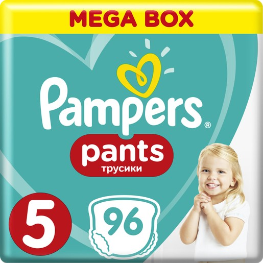 Pampers Pants Mega Box No5 Junior (12-18kg) 96 πάνες
