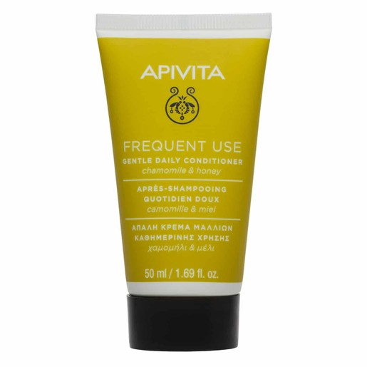 Apivita Gentle Daily Conditioner Chamomile & Honey All Hair Types 50ml