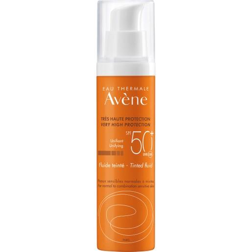 Avene Dry Touch Tinted Fluid Spf50+, 50ml