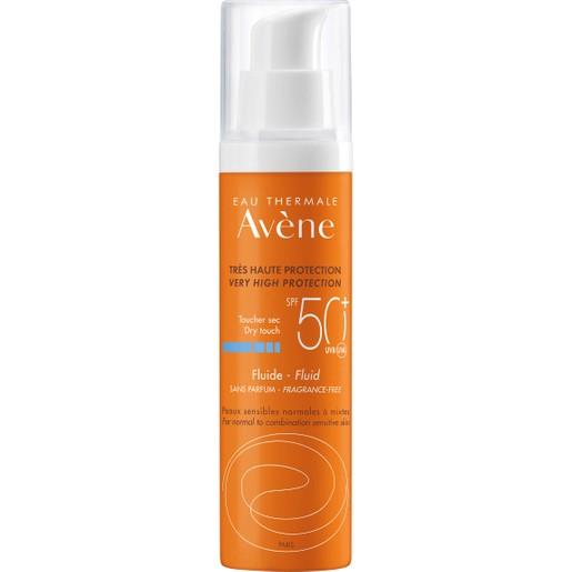 Avene Dry Touch Fluid Spf50+, 50ml