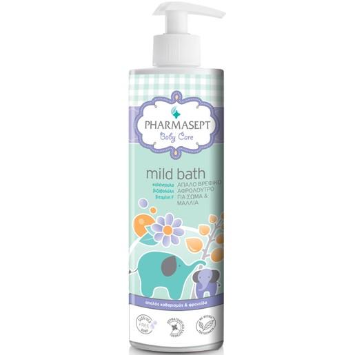 Pharmasept Tol Velvet Baby Mild Bath Παιδικό Αφρόλουτρο για Σώμα & Μαλλιά Χωρίς Αλκάλια ή Σαπούνι με Ουδέτερο pH7 500ml