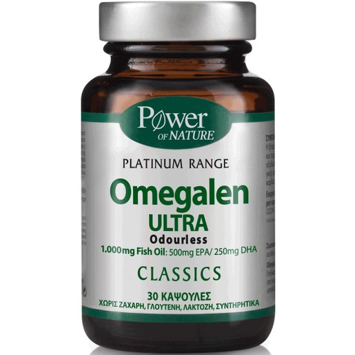 Power Health Platinum Omegalen Ultra 1000mg 30caps