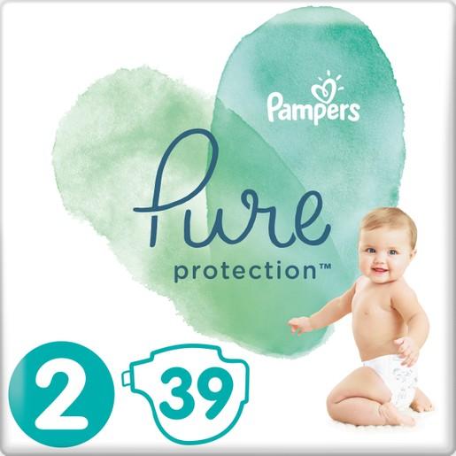Δώρο Pampers Pure Protection No2 (4-8kg) 39 πάνες