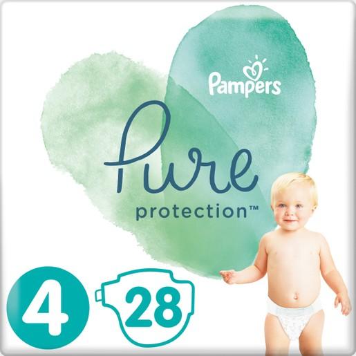 Δώρο Pampers Pure Protection No4 (9-14kg) 28 πάνες