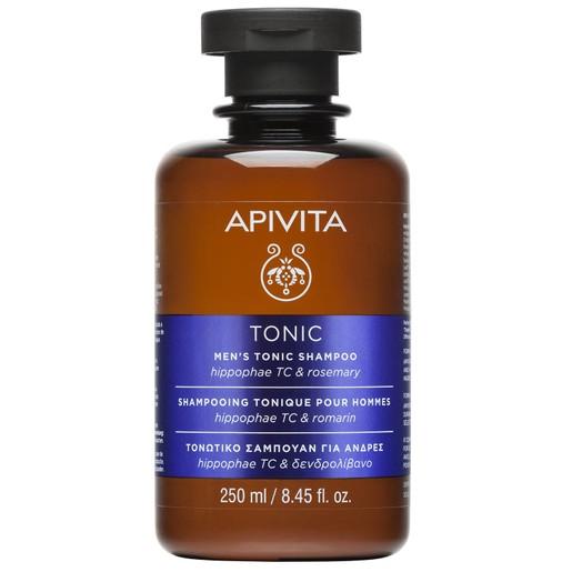 Apivita Men\'s Tonic Shampoo With Hippophae TC & Rosemary Τονωτικό Σαμπουάν Κατά της Τριχόπτωσης για Άνδρες 250ml