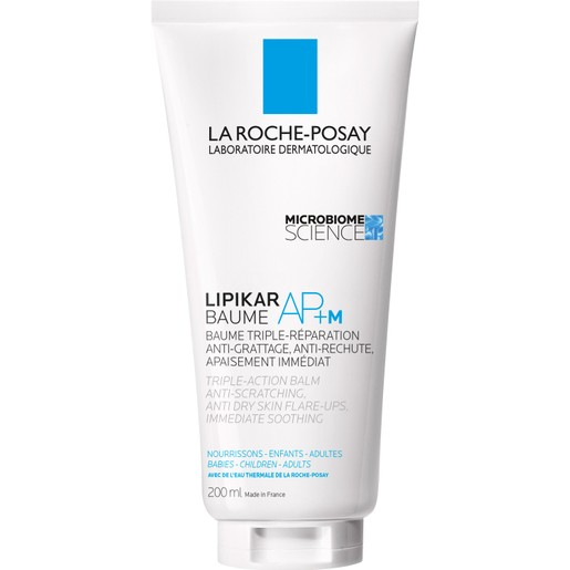 La Roche-Posay Lipikar Baume AP+M Μαλακτικό Βάλσαμο με Τριπλή Δράση Ενάντια στον Κνησμό Ιδανικό για Βρέφη,Παιδιά,Ενήλικες
