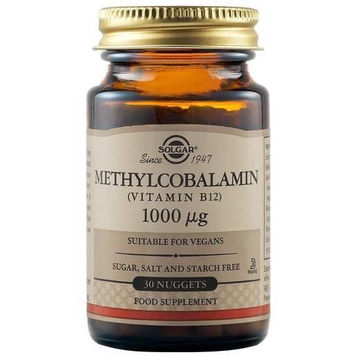Solgar Methylcobalamin (Vitamin B12) 1000mcg 30nuggets
