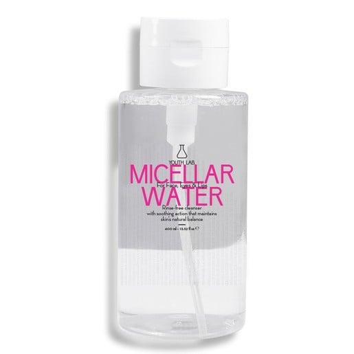 Youth Lab Micellar Water Νερό Καθαρισμού Προσώπου & Ματιών 400ml