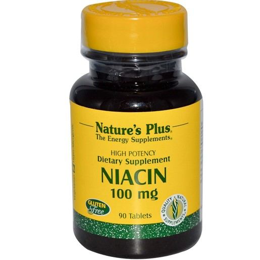 Nature\'s Plus Niacin Νιασίνη 100mg 90tabs