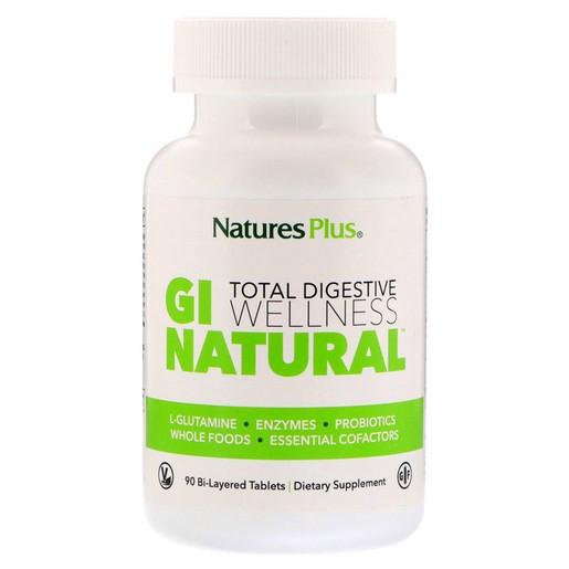 Nature\'s Plus Gi Natural Φόρμουλα για την Υγιή Λειτουργία του Πεπτικού Συστήματος, 90 tabs