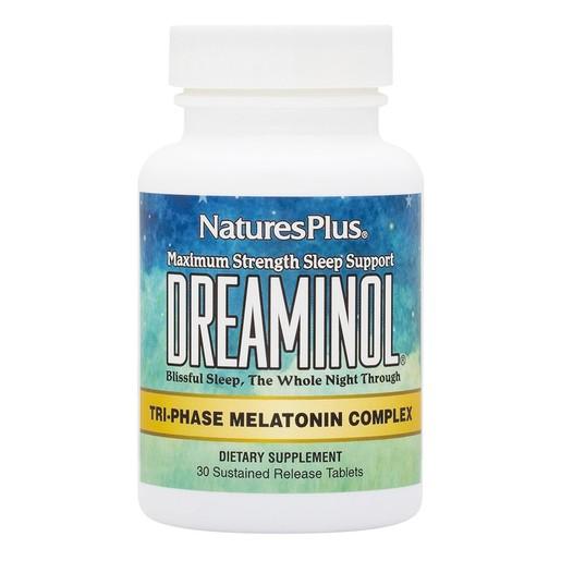 Nature\'s Plus Dreaminol 30 triphase tabs Συμπλήρωμα Διατροφής για τη Βελτίωση του Ύπνου 30 ταμπλέτες