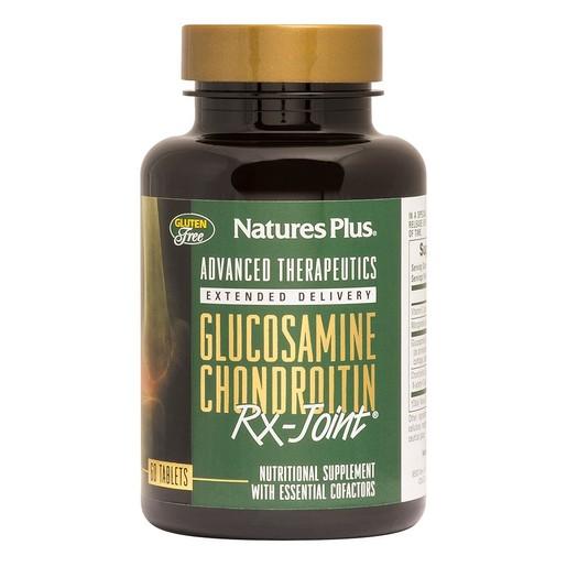 Nature\'s Plus RX Joint Glucosamine Chondroitin Συμπλήρωμα Διατροφής για την Υγεία αρθρώσεων 60tabs