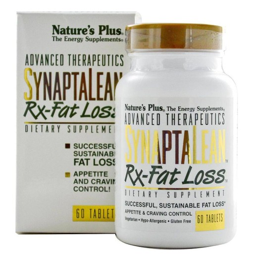 Nature\'s Plus Synaptalean Rx Fat Loss Επαναστατική Φόρμουλα Αδυνατίσματος 60 tabs
