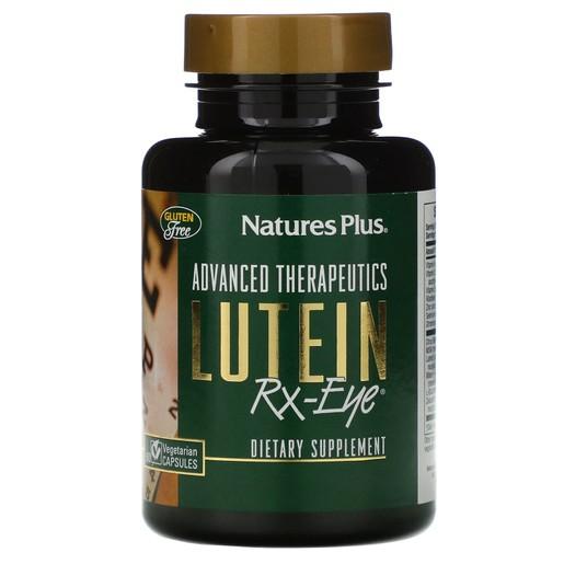 Nature\'s Plus Lutein RX Eye Ισχυρή Φόρμουλα για την Υγεία της Όρασης, 60 caps