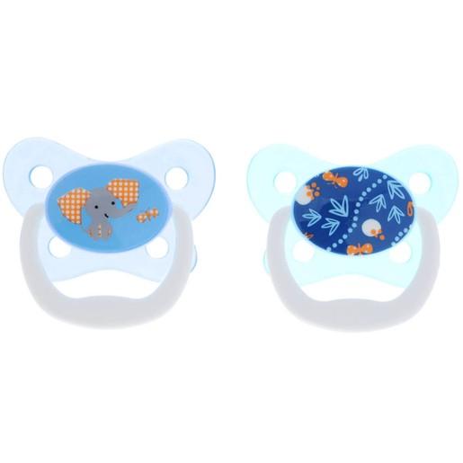 Dr Brown\'s Prevent Πιπίλα Πεταλούδα Ορθοδοντική Μπλε Σιλικόνης 6-12m, 22402