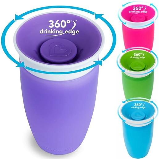 Munchkin Sippy Cup Παιδικό Κύπελλο Miracle 360° 12m+, 296ml