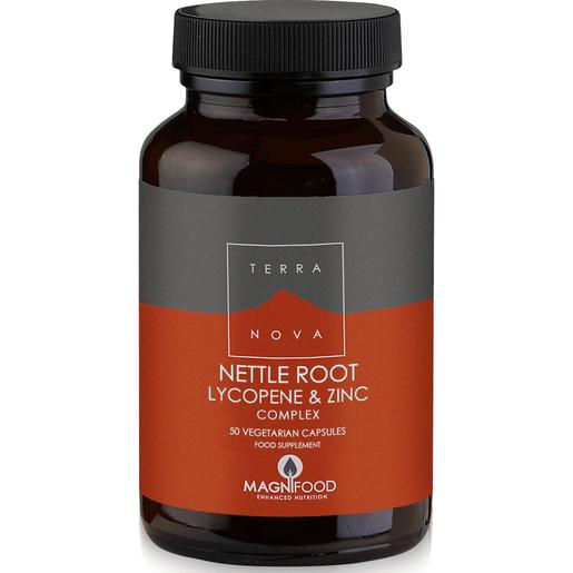 Terranova Nettle Root Lycopene & Zinc Complex Prostate Support Η Ολοκληρωμένη Σύνθεση Φυτικών Συστατικών για τον Προστάτη