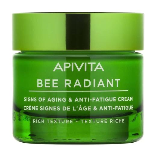 Apivita Bee Radiant Κρέμα για Σημάδια Γήρανσης & Ξεκούραστη Όψη Πλούσιας Υφής 50ml