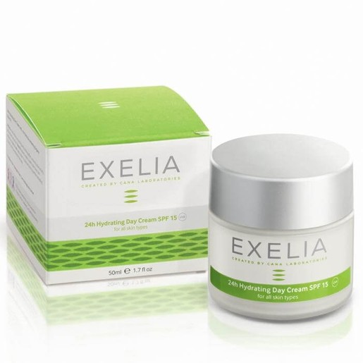 Exelia 24h Hydrating Day Cream Spf15 UVA for All Skin Type 50ml