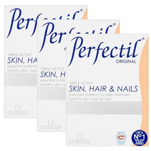 Vitabiotics Πακέτο Προσφοράς Perfectil Original 30tabs 2+1 Δώρο
