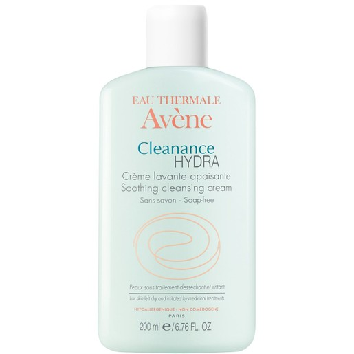 Avene Eau Thermale Cleanance Hydra Creme Lavante Apaisante Καταπραϋντική Κρέμα Καθαρισμού 200ml